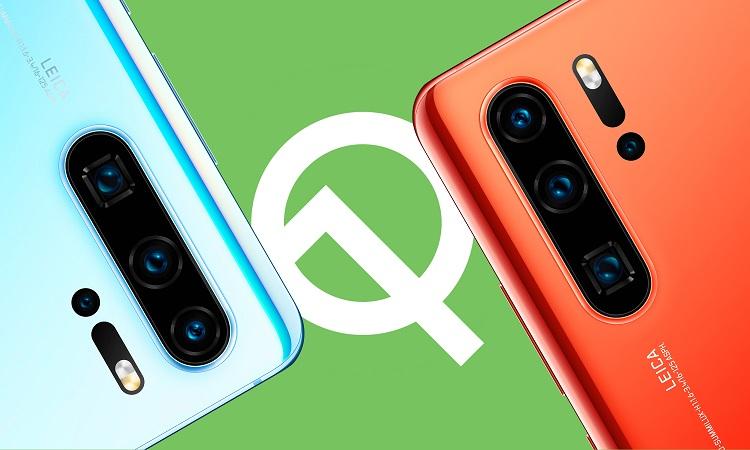 گوشیهای هوآوی که اندروید Q را دریافت خواهند کرد