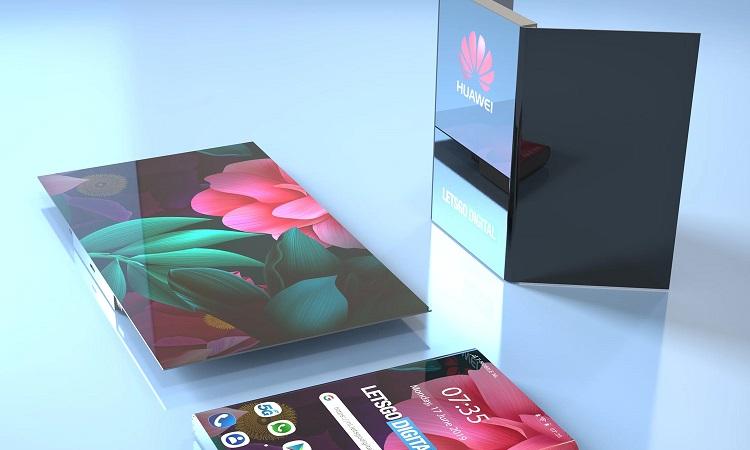 گوشی منعطف جدید هوآوی با طراحی شگفت انگیز