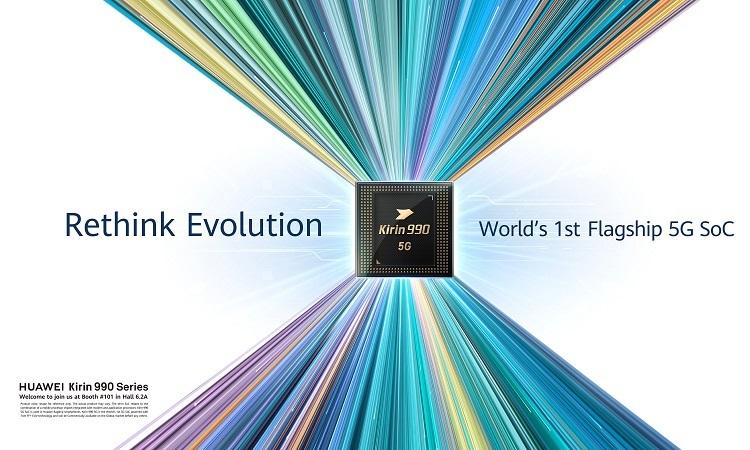 کایرین 990 هوآوی نخستین پردازنده پرچمدار دنیا با مودم 5G یکپارچه