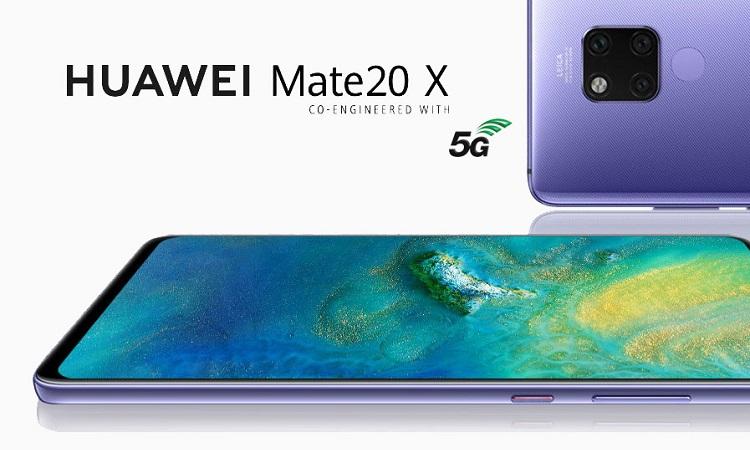 ویژگی های اصلی هوآوی Mate 20 X 5G