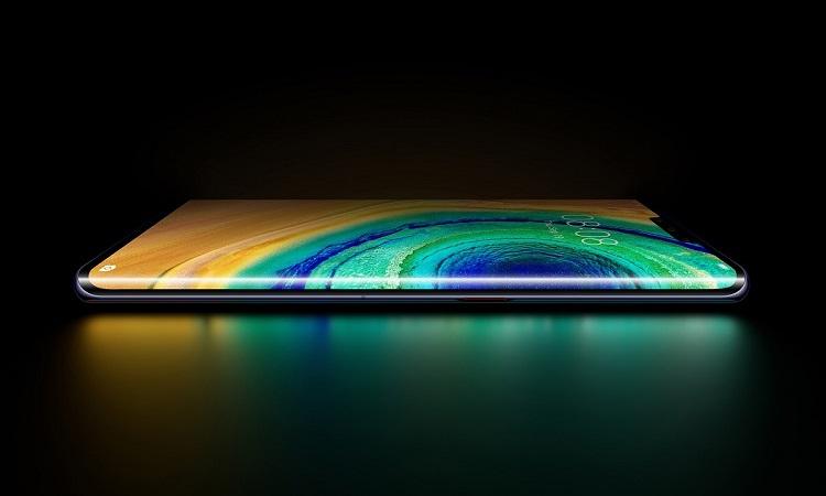 نمایشگر خمیده Horizon گوشی هوآوی Huawei Mate 30 Pro