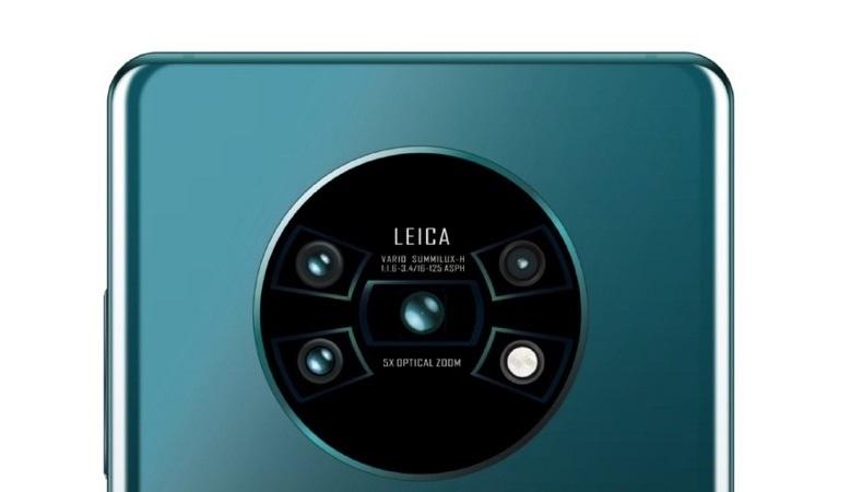 چینش دایره ای لنزها در گوشی هوآوی Mate30 Pro